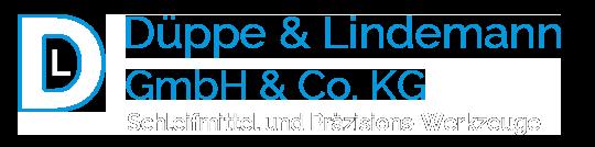 Düppe & Lindemann Logo weiß