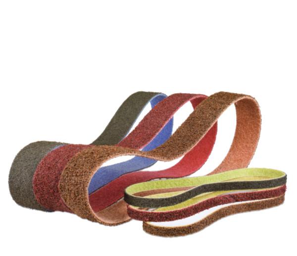 Schleifbänder aus Vlies